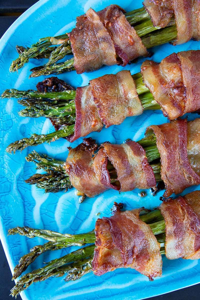 Wrap your Asparagus in Bacon and Cook until Crispy