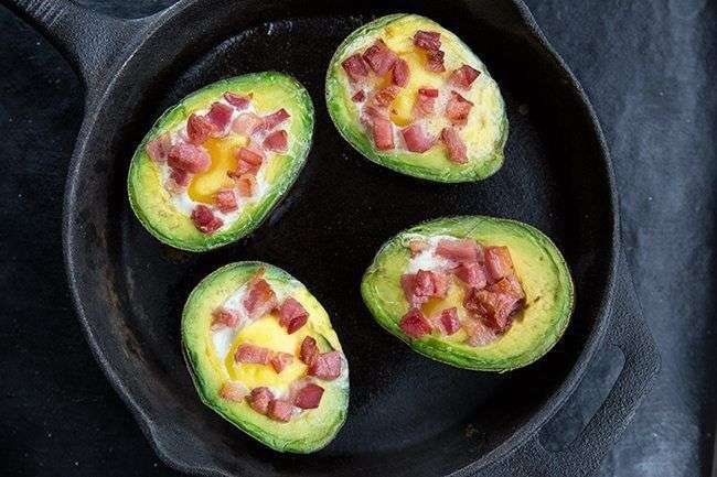 Low Carb Baked Avocado