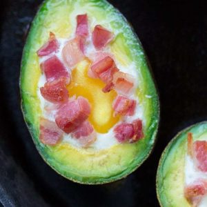 Low Carb Baked Avocado is one of the best things you'll eat this year!