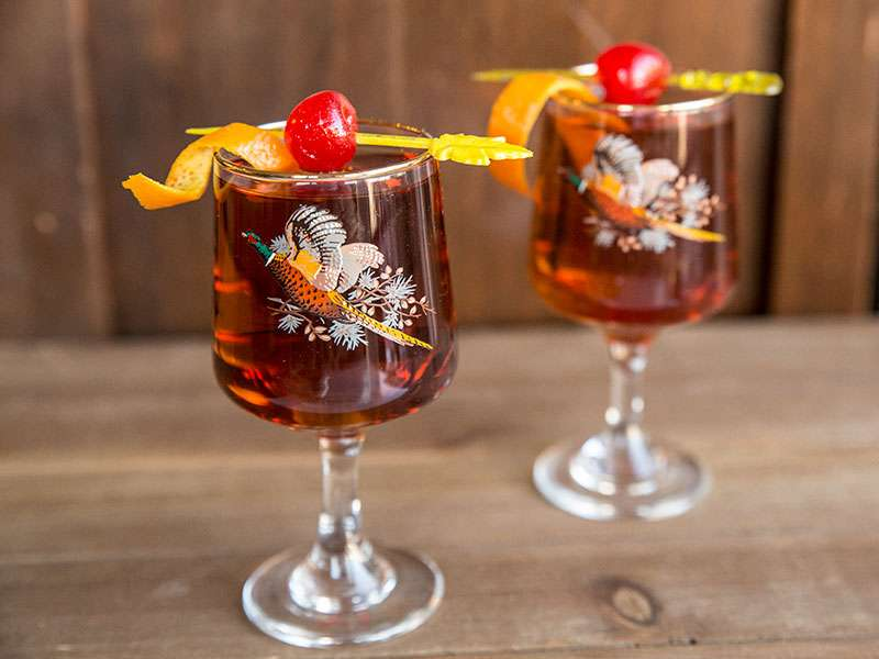 Manhattan Cocktail - Low Carb & Low Sugar