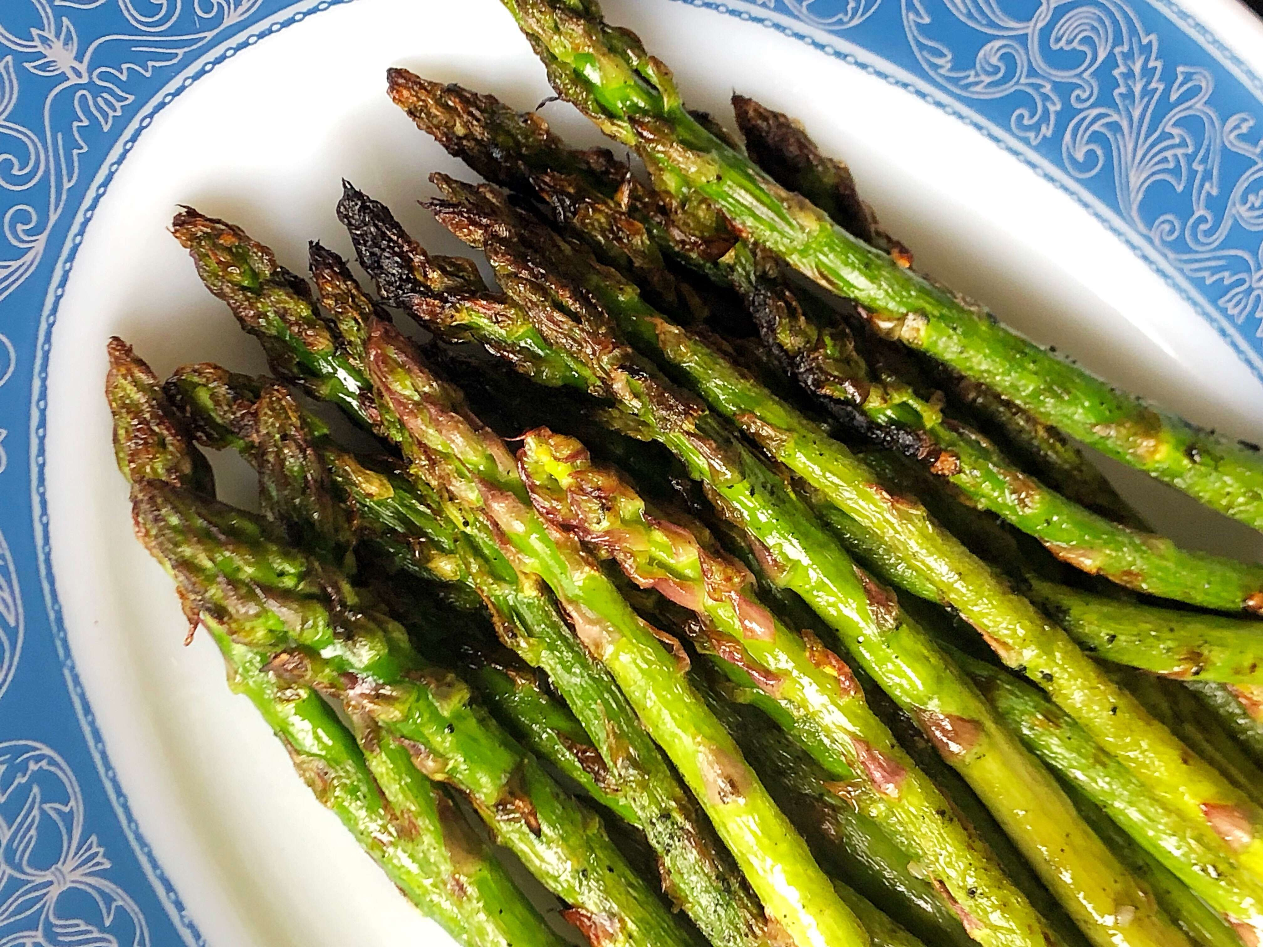 Garlic Olive Oil Grilled Asparagus