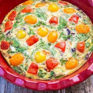 Mediterranean Vegetable Frittata