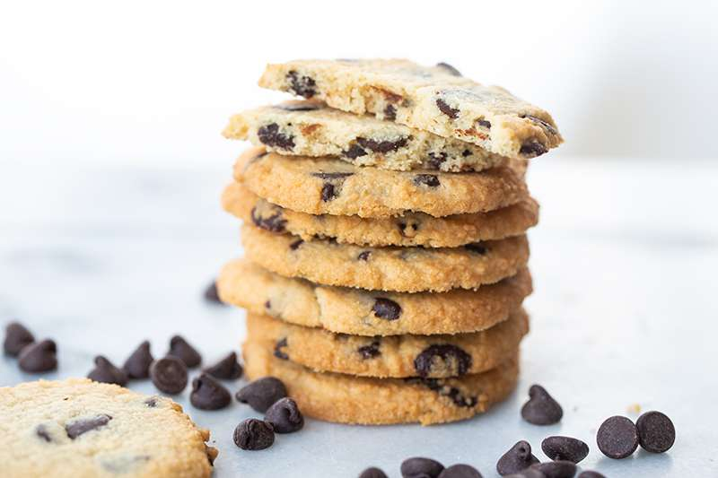 Low Carb/Keto Chocolate Chip Cookies
