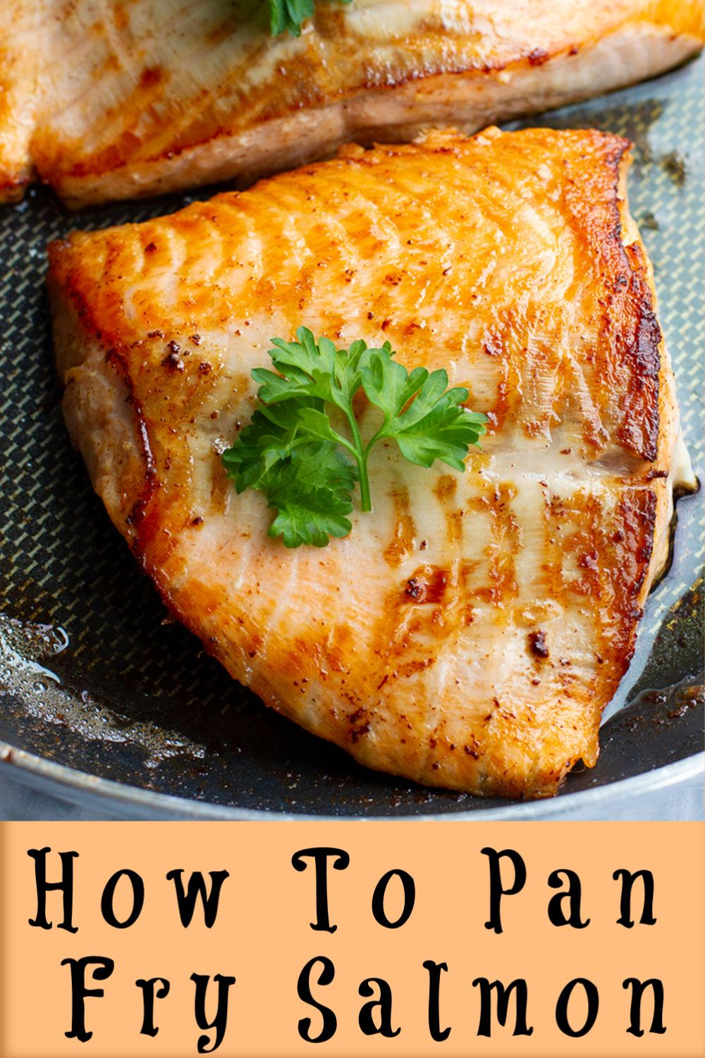 #Salmon recipe #How To Pan Fry Salmon # Salmon #Dinner #Panfried # Recipe # recipes