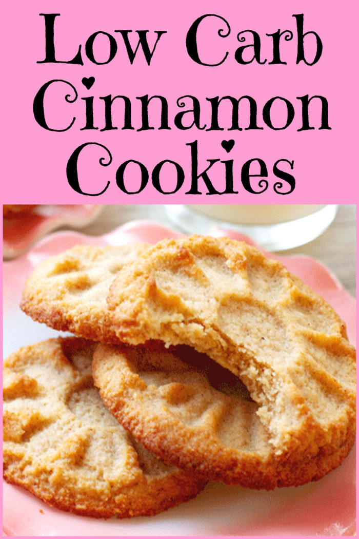 Low Carb Cinnamon Cookies