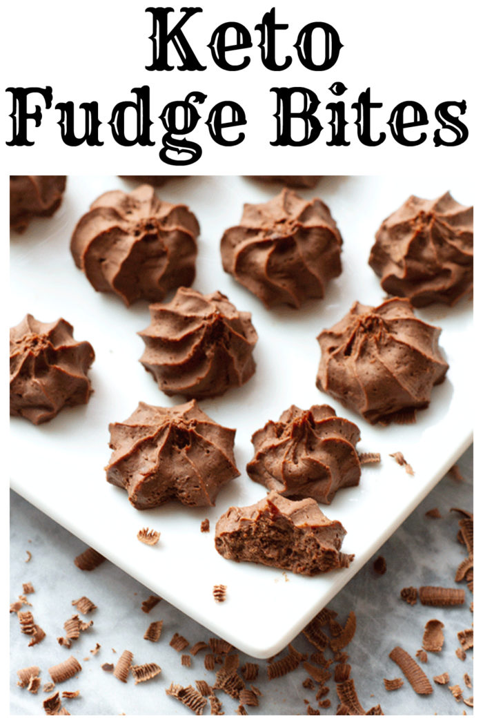 Keto Fudge Bites are so creamy and smooth with a hint of coffee! # Keto Fudge #keto #fudge #Lowcarbfudge #lowcarb