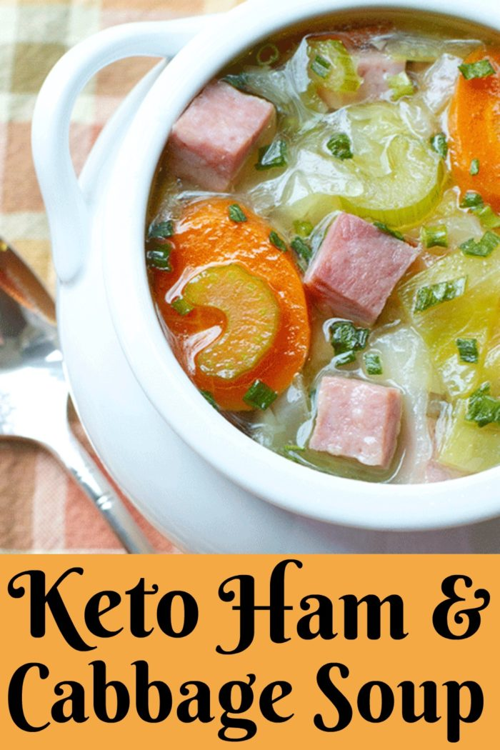 Ham and Cabbage Soup #Fallsoup #Soup #souptime #bonebroth
