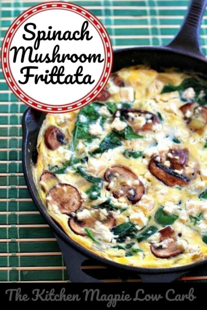 Mushroom Spinach Frittata # Frittata #Mushroomfrittata